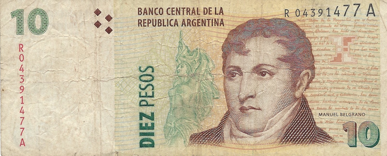 The currency of Argentina. Argentine peso: history of creation