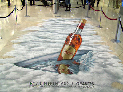 3d sidewalk ads - 3d chalk paintings