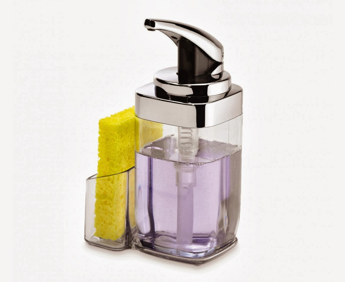 SIMPLEHUMAN 22-OZ SQUARE SOAP PUSH PUMP WITH CADDY REVIEW | THE GOOD ...
