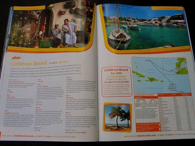 travel agency flyers sample