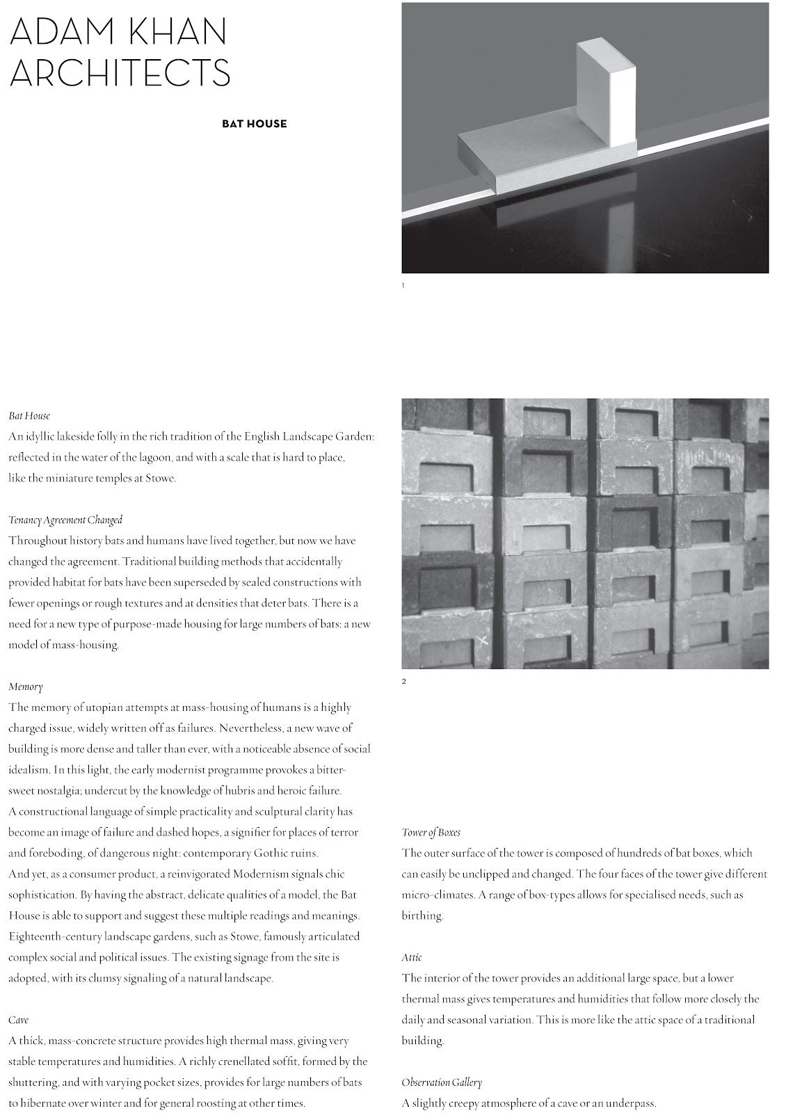 p.e.a.r. paper for emerging architecture research
