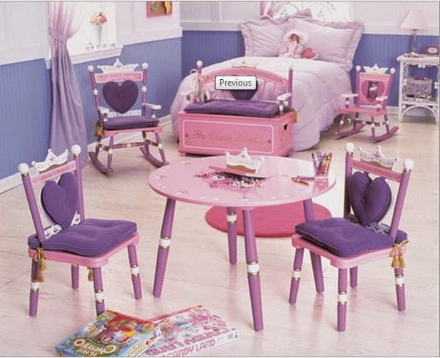Princess Themed Furniture