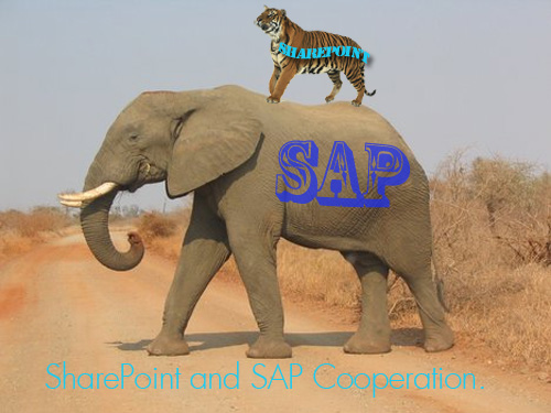 SharePoint Tiger Rides on the back of the SAP Elephant. Is the Magic circus coming to town?