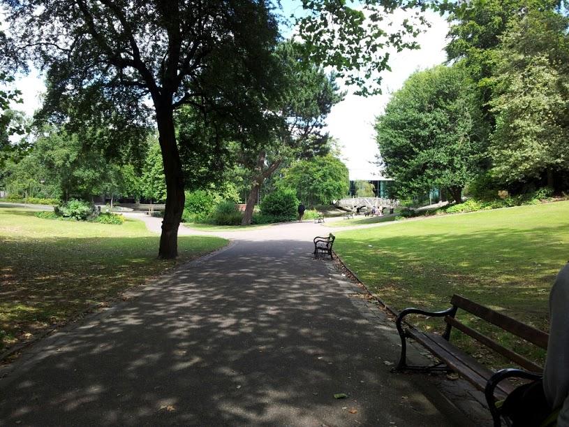 La froggy chez les anglais visite au weston park for Visiter les jardins anglais