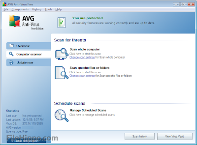Download AVG Free Edition 2013.0.3343