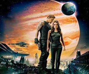 Mila Kunis na capa do filme O Destino de Júpiter