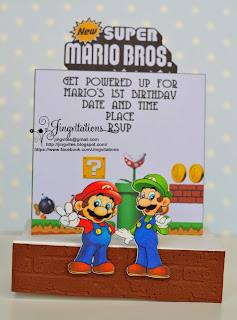 super_mario_bros Mario_and_luigi birthday_invitations invitaciones convites