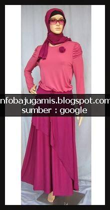 Baju Gamis Iwakuni Info Model Baju Gamis Terbaru Murah