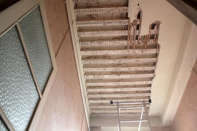 Canut r novation plafond for Renovation canut