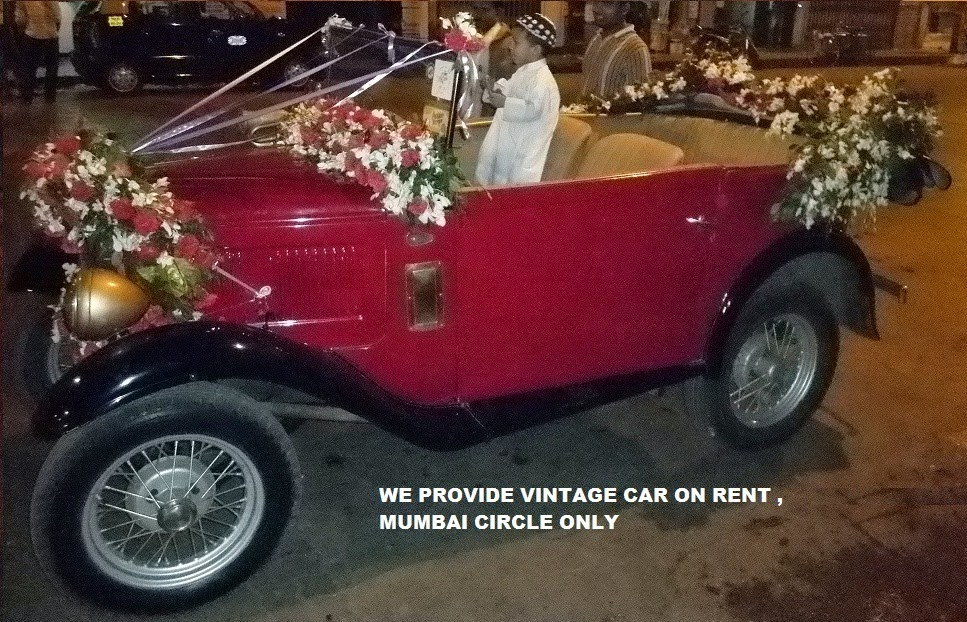 VINTAGE CAR ON RENT MUMBAI