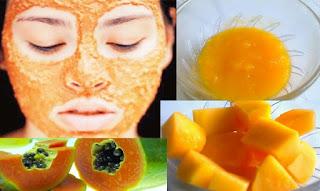 Masker Pemutih dari Pepaya Madu dan Susu Cara Alami Memutihkan Wajah