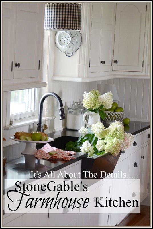 the kitchen at stonegable is not only the heart of my home but its hub - My Home Blog