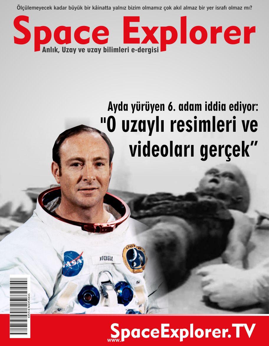 """Ayda yürüyen 6. adam iddia ediyor; """"O uzaylı resimleri ve videoları gerçek"""""""