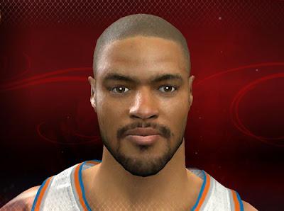 NBA 2K13 Tyson Chandler Cyber Face Patch PC