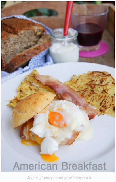 American breakfast: gluten free challenge!