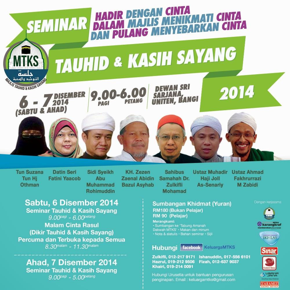 Seminar Tauhid Dan Kasih Sayang 2014
