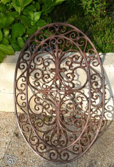 Oval Window Grille | Fenetre Garde Corps