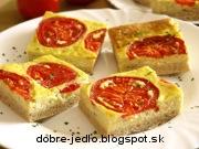 Syrové kocky s paradajkami - recept
