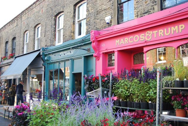 Columbia road flower market. Mercado de flores con encanto en Londres