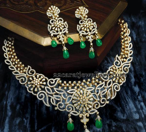 Emerald Drops Timeless Diamond Set