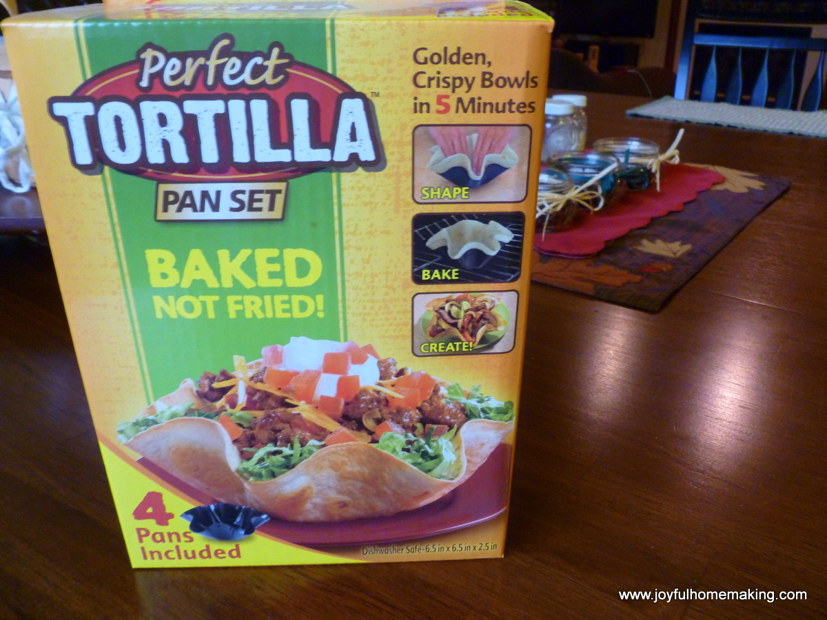 perfect tortilla pan set instructions