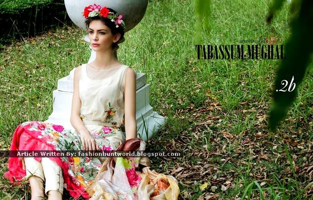 Tabassum Mughal Spring-Summer Lawn 2015-2016 By Al-Zohaib Textile