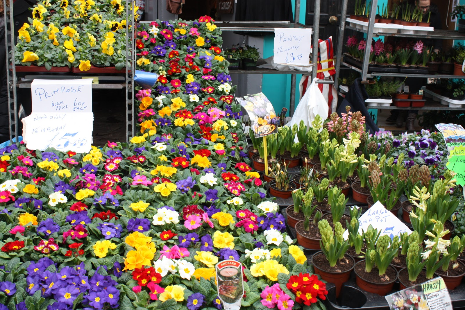 Etrala London Blog Flower Market Columbia Road