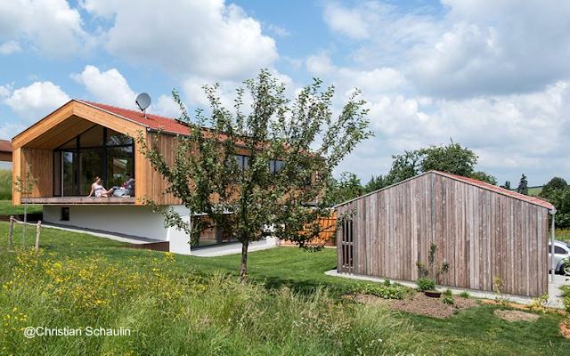 Casa de granjero estilo Contemporáneo en Baja Bavaria, Alemania