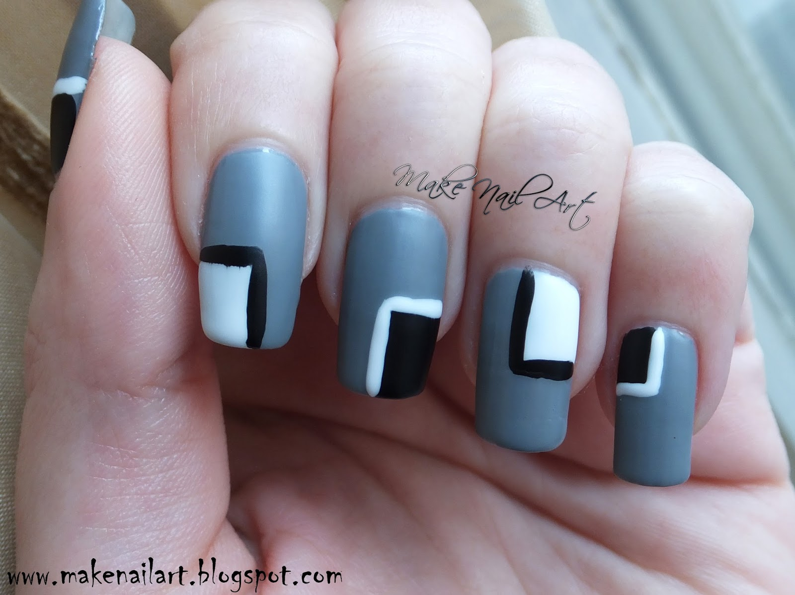 White color nail art - It S Really Easy And Fast Nail Design Perfect For Every Day