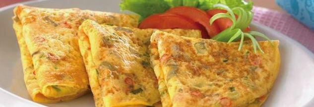Resep Cara Membuat Telur Dadar Enak, Mudah dan Menyehatkan