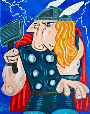 Picasso Superheroes Seen On www.coolpicturegallery.us