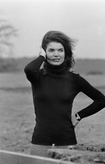 Jackie Kennedy turtleneck 1969