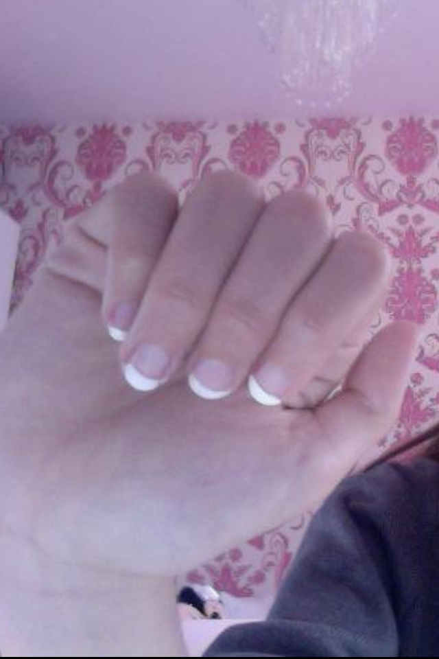 French Manicure from home - just nail polish!♥ | Lucie\'s Boutique ...
