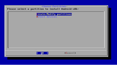 Android Partition