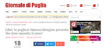 """""""Sei dove sussulta il cuore"""" sul Giornale di Puglia!"""