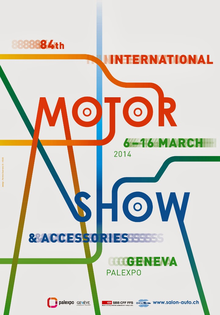 Geneva Motor Show 2014 - List of Premieres