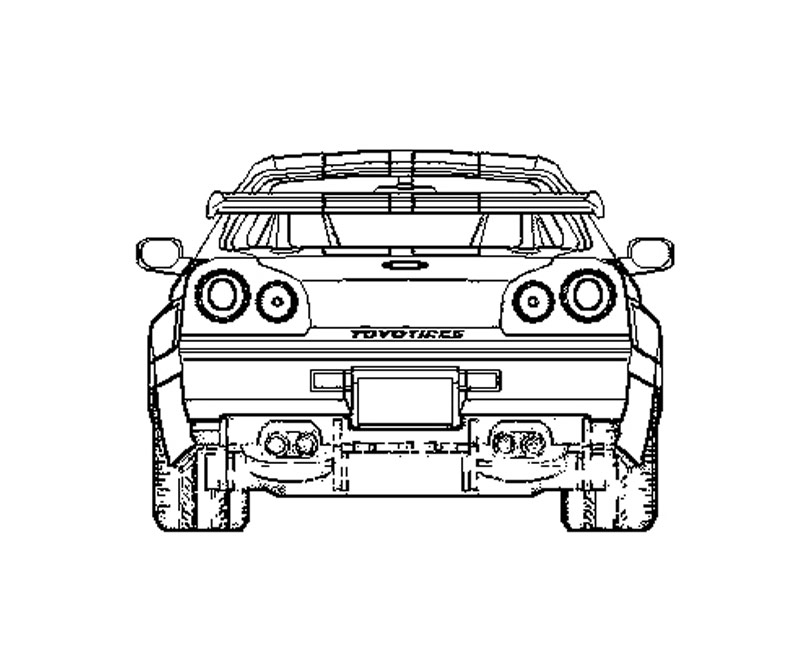 free coloring pages of fast and furious