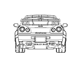 #7 Fast and Furious Coloring Page