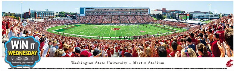 Washington State University Martin Stadium - Panoramic Photo