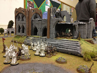 The Hobbit SBG - Gladadhrim Guard siege ruins