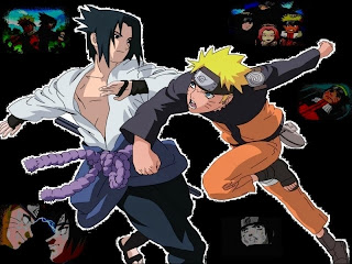 Naruto vs Sasuke wallpaper gratis
