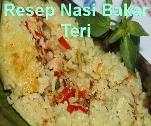 Resep Nasi Bakar Teri Medan Spesial dan Enak