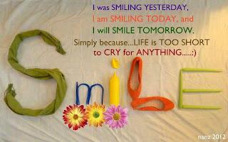 smile always quotation wallpaper