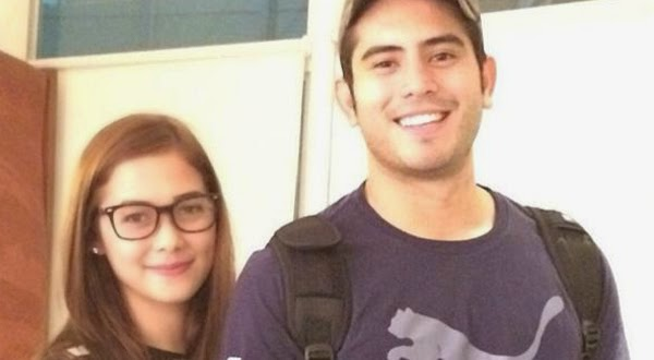 Gerald Anderson and Maja Salvador ride the motorbike to reach the airport on time