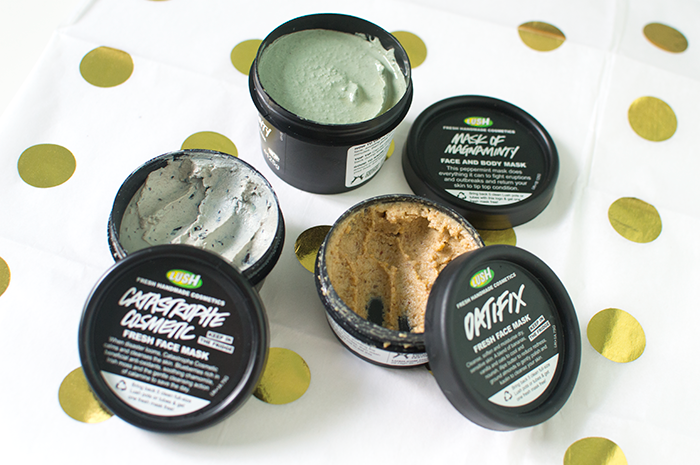 BEAUTY: 3 LUSH FACE MASKS TO TRY