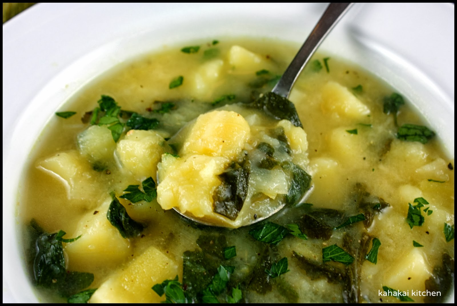 & Potato Soup with Watercress: Creamy & Satisfying for Souper (Soup ...
