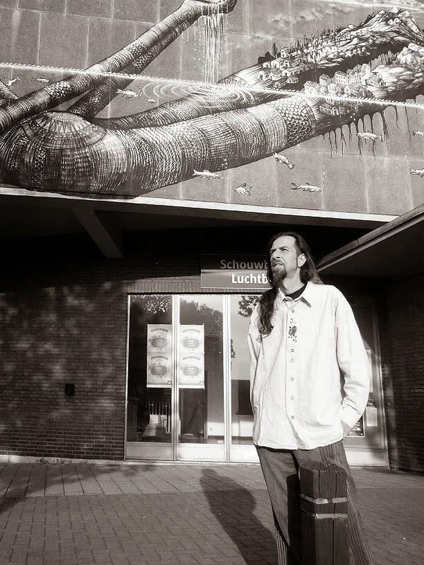 Stefano Musso alias Alio Die @ Antwerp Ambient Festival 2014 / photo S. Mazars