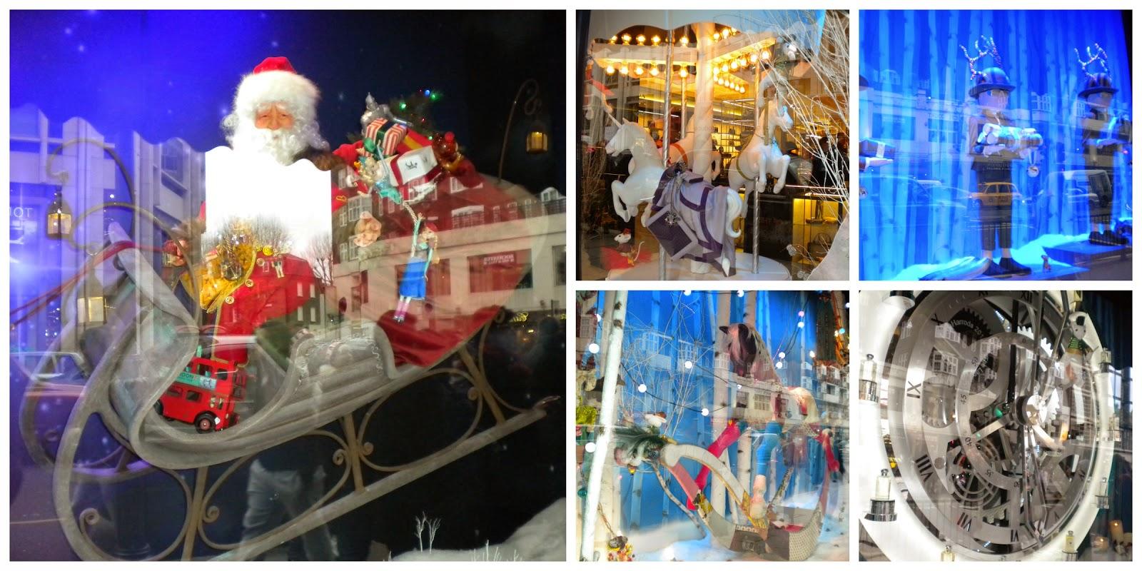 La decoración navideña de Harrods