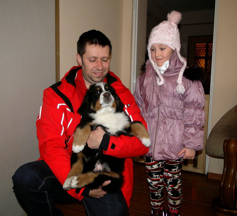 BASSCO pojechał do nowego domku, a CASSANOVA odwiedził małego Leonka :)