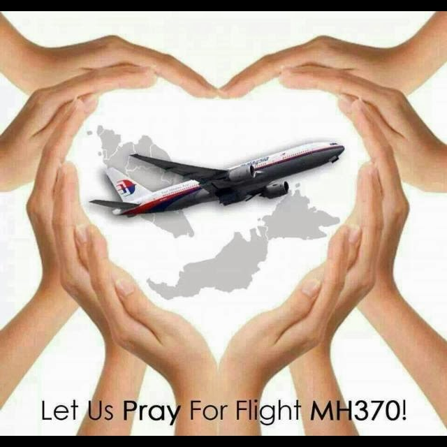 Al-Fatihah for penumpang and crew MH370